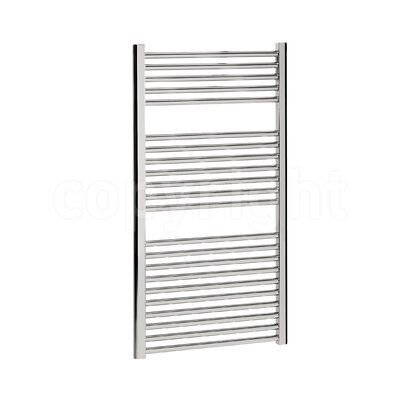 Bauhaus Design Wall Mount Heated Towel Rail