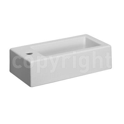 Bauhaus Hey 2 Wall 50 cm Vessel Sink