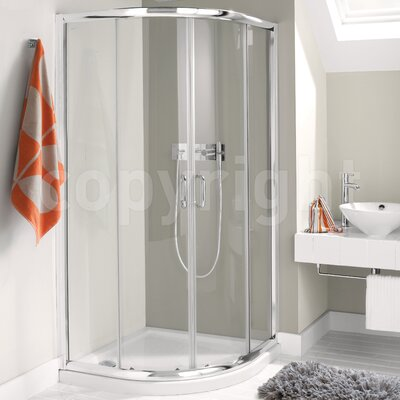 Simpsons Supreme Luxury Quadrant Curved Shower