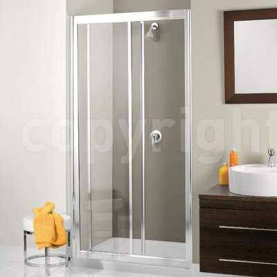 Simpsons Supreme 185cm x 140cm Sliding Shower Door