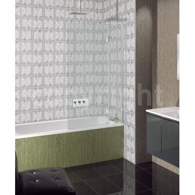 Simpsons Ten 150cm x 90cm Hinged Bath Screen