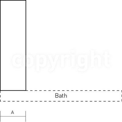 Simpsons Supreme 128cm x 35cm Bath Screen