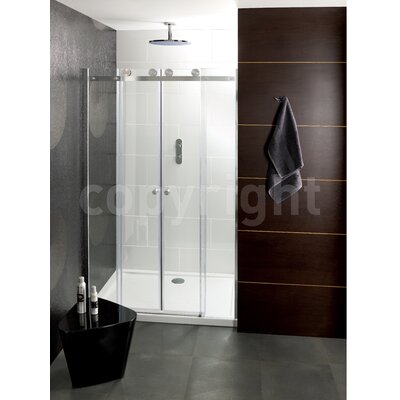 Simpsons Central 195cm x 170cm Pivot Shower Door