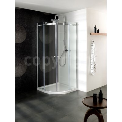 Simpsons Central 195cm x 90cm Sliding Shower Door