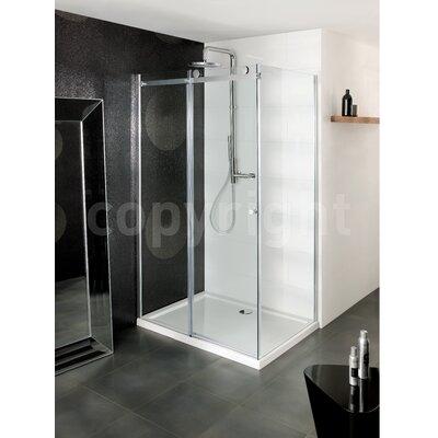 Simpsons 195cm x 110cm Sliding Shower Door