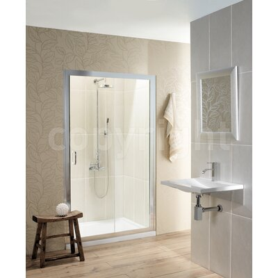 Simpsons Classic 195cm x 120cm Sliding Shower Door
