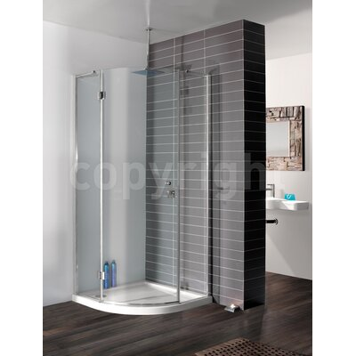 Simpsons Design 195cm x 80cm Hinged Shower Door