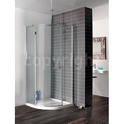 Simpsons Design 195cm x 120cm Hinged Shower Door