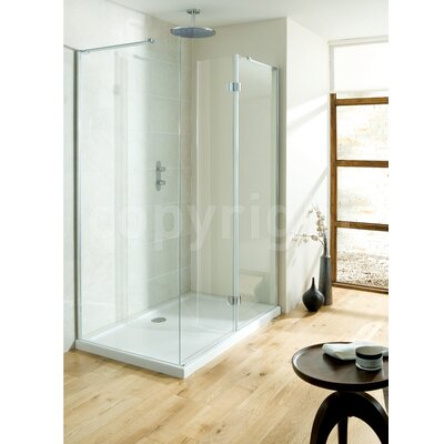 Simpsons Design View Walk in Shower with Folding Panel