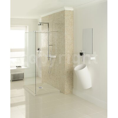 Simpsons Design View Straight Walk in Shower Panel