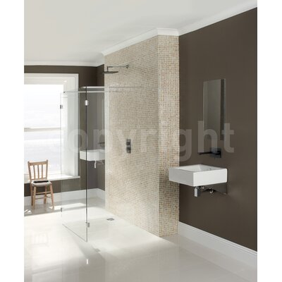 Simpsons Design View Walk in Shower Panel with Return Panels