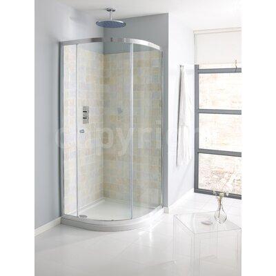 Simpsons Edge 195cm x 80cm Sliding Shower Door