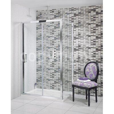 Simpsons Elite 195cm x 140cm Sliding Shower Door