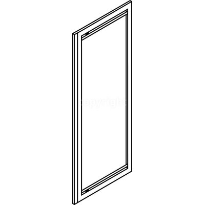 Simpsons Supreme 185cm x 90cm Pivot Shower Door