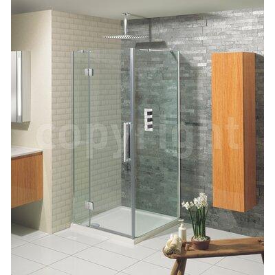 Simpsons Ten 195cm x 140cm Pivot Shower Door