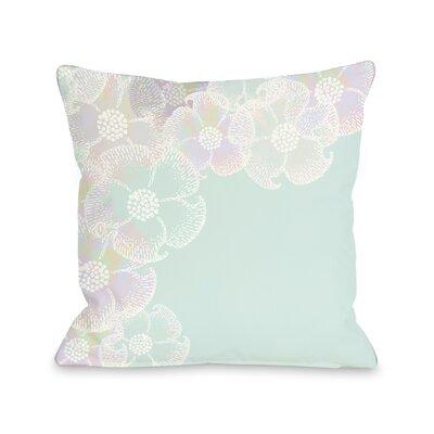 One Bella Casa Bloom Border Throw Pillow
