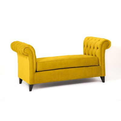 Ginger Alder Bench Body Fabric: Mustard