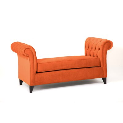Ginger Alder Bench Body Fabric: Saffron