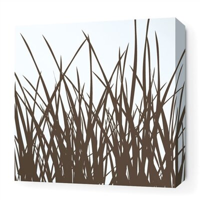 Inhabit Soak Grass Stretched Graphic Art on Wrapped Canvas