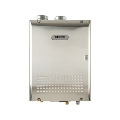 Commercial Condensing Indoor Tankless Water Heater with Direct Ventilation