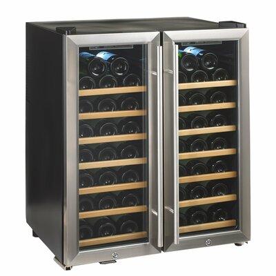 48 Bottle Silent Series Dual Zone Freestanding Wine Cooler