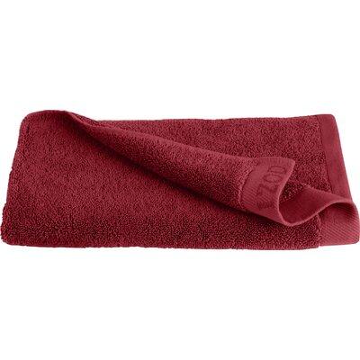 Classic 100% Cotton Hand Towel Color: Pompei Red