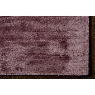 Calvin Klein Home Lunar Handmade Purple Area Rug
