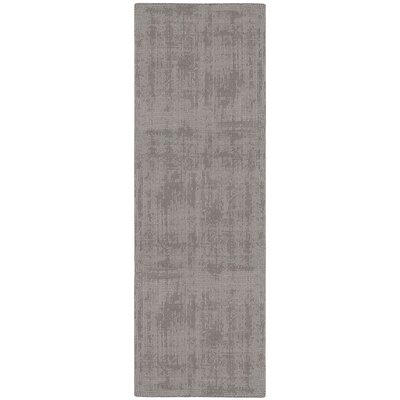 Calvin Klein Home Nevada Hand Loomed Dark Grey Area Rug