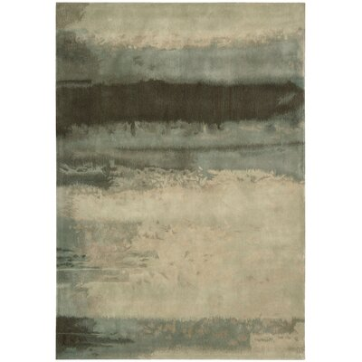 Calvin Klein Home Luster Wash Hand-Tufted Grey Area Rug