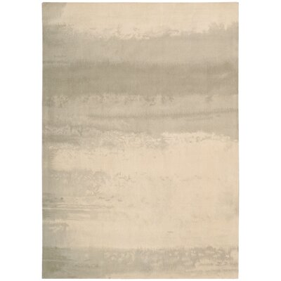 Calvin Klein Home Luster Wash Hand-Tufted Dune Area Rug