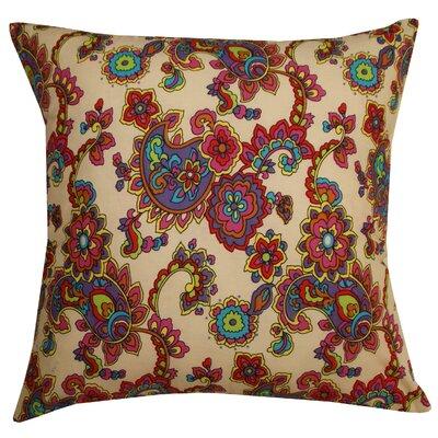 Divine Designs Cotton Throw Pillow
