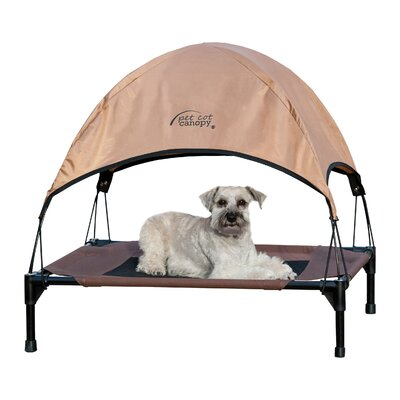 "Pet Cot Canopy Color: Tan, Size: Medium (23"" H x 32"" W)"