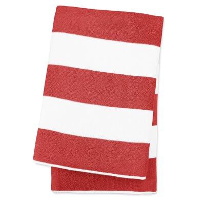 Anatalya Classic Resort Egyptian-Quality Cotton Beach Towel Color: Bonfire Red