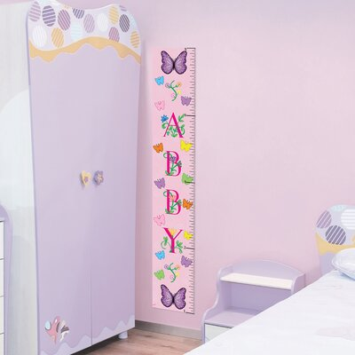 Mona Melisa Designs Butterfly Girl Growth Chart