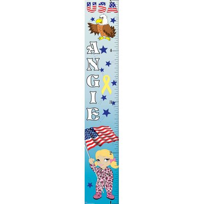 Patriotic Girl Growth Chart