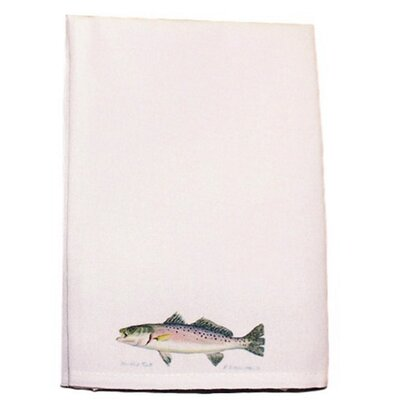 Coastal Speckled Trout Hand Towel (Set of 2)