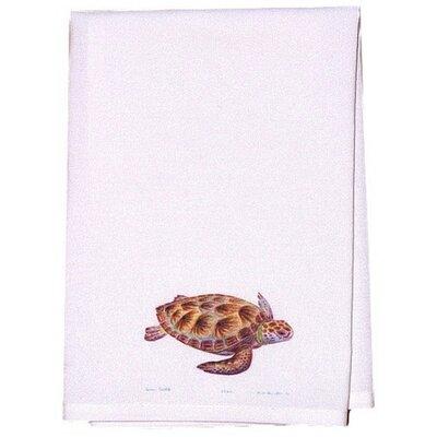Coastal Sea Turtle Hand Towel (Set of 2)