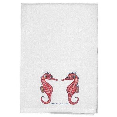 Coastal Sea Horse Hand Towel (Set of 2)