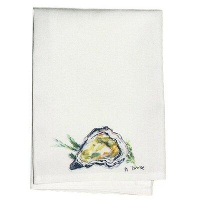 Coastal Oyster Hand Towel (Set of 2)