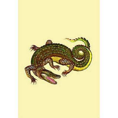 "Alligator Vertical Flag Size: 12"" W x 18"" H"