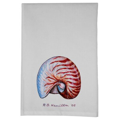 Coastal Nautilus Hand Towel (Set of 2)