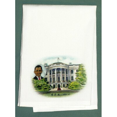 Betsy Drake Interiors Garden Obama's House Hand Towel