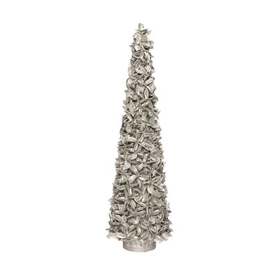 Layered Cotton Cone Tree Color: Silver