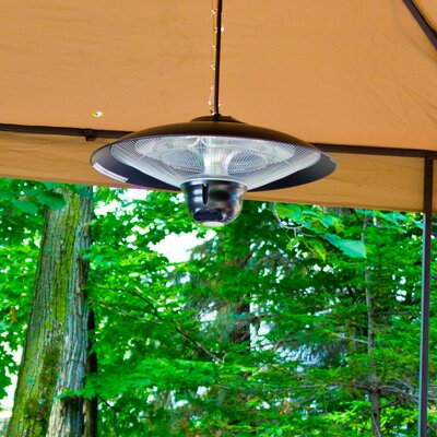 Hanging Infrared Electric Patio Heater Wayfair