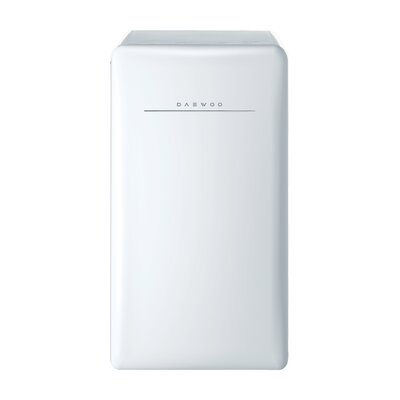 4.4 cu. ft. Compact Refrigerator Color: Crme White