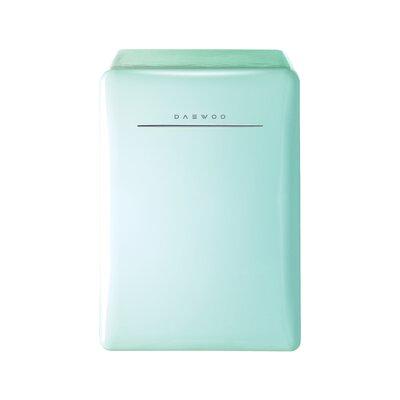2.8 cu.ft. Compact Refrigerator Color: Mint Green