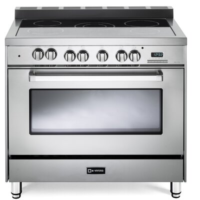 """36"""" Free-standing Electric Range Finish: Stainless Steel"""