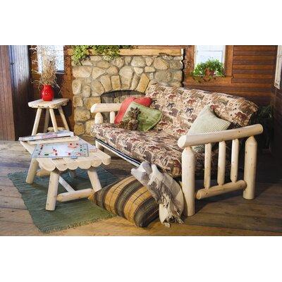 Rustic Natural Cedar Furniture Log Futon Frame