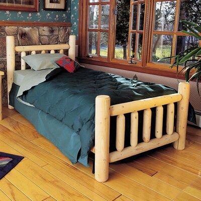 Rustic Slat Bed Twin Size