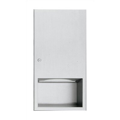 American Specialties Simplicity Paper Towel Dispenser - 600 C-fold or 800 Multi-fold Capacity